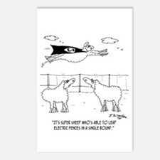 Super Sheep Postcards (Package of 8)