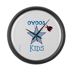 OYOOS Kids Star design Large Wall Clock