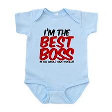best boss in the world Infant Bodysuit