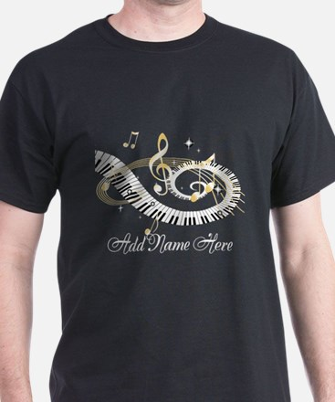 Personalized Piano Musical gi T-Shirt