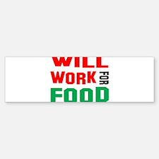 Cute Food Sticker (Bumper)