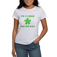 Funny 1/2 Irish St. Patrick's Day Tee