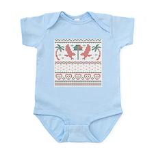 Howliday Sweater Infant Bodysuit