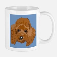 red poodle Mug