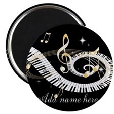 Personalized Piano Musical gi Magnet