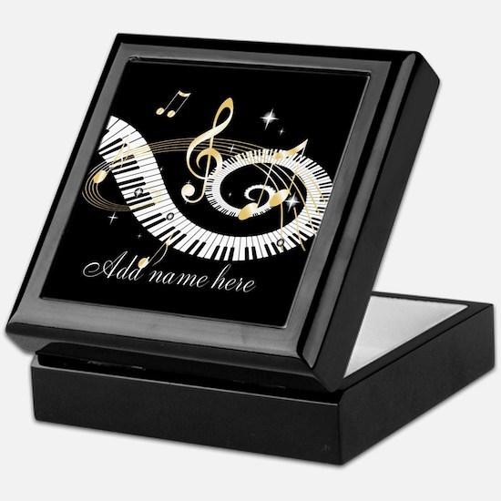 Personalized Piano Musical gi Keepsake Box