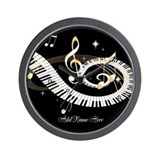 Piano Wall Clocks