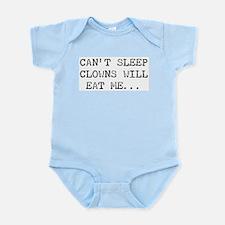 Can't Sleep, Clowns Infant Creeper
