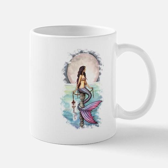Enchanted Sea Mermaid Art by Molly Harrison Mug