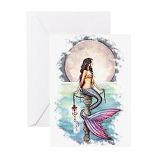 Enchanted Sea Mermaid Art by Molly Harrison Greeti