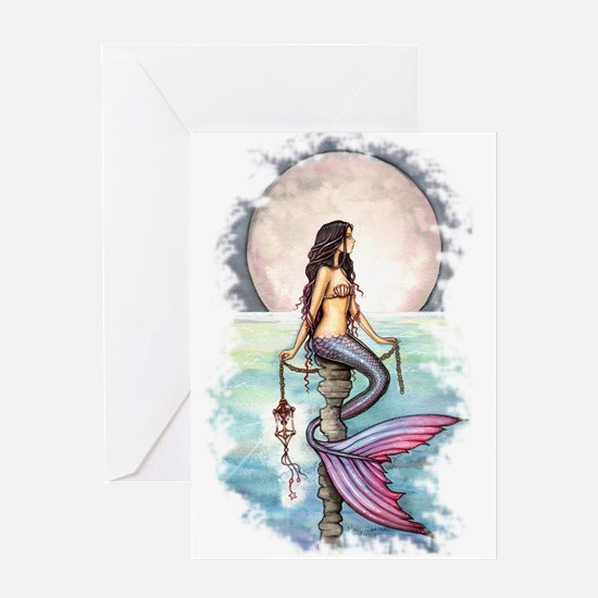 Enchanted Sea Mermaid Art by Molly Harrison Greeti