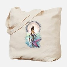 Enchanted Sea Mermaid Art by Molly Harrison Tote B