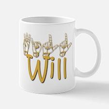 Will -gold Mug