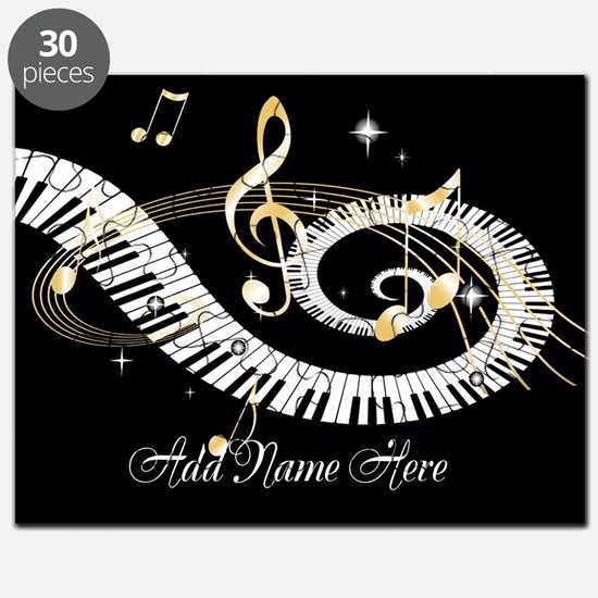 Personalized Piano Musical gi Puzzle