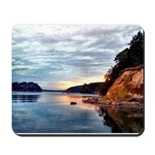 Sunset Mirrored Images Mousepad
