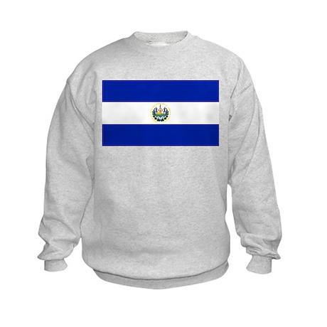 Flag of El Salvador Kids Sweatshirt