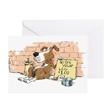 Ride Your Leg Greeting Cards (Pk of 10)