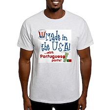 Portuguese Parts Ash Grey T-Shirt