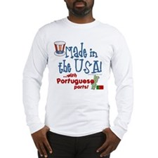 Portuguese Parts Long Sleeve T-Shirt