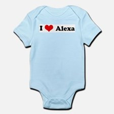 I Love Alexa Infant Creeper