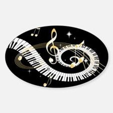 designer Musical notes Decal