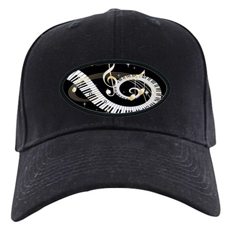designer musical notes baseball cap by auslandgifts