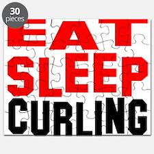 Unique Curling rock Puzzle