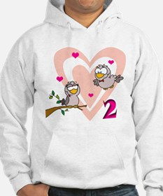 Two Turtle Doves Hoodie