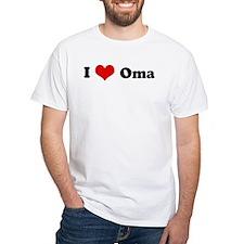 I Love Oma Shirt