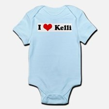 I Love Kelli Infant Creeper