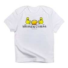 Hatched by 2 chicks. Infant T-Shirt