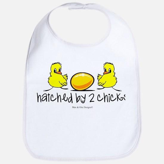 Hatched by 2 chicks. Bib