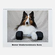 Never Underestimate Cute Wall Calendar