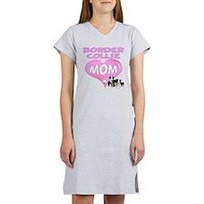 Border Collie Mom-3 Women's Nightshirt