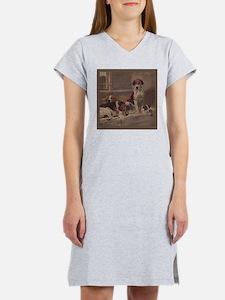 Cute Foxhound Women's Nightshirt