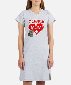 Yorkie Mom Women's Nightshirt