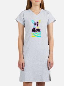 #1 Mom - 2 Women's Nightshirt