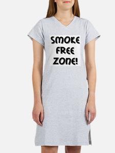 Smoke Free Zone! Women's Nightshirt