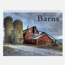 Wall Calendar: Minnesota Barns 2014