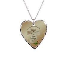 In Loving Memory of Grandmother Necklace Heart Cha