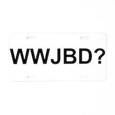 WWJBD Aluminum License Plate