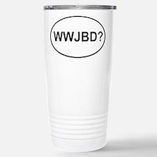 WWJBD Travel Mug