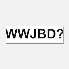 WWJBD Car Magnet 10 x 3