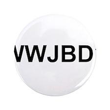"""WWJBD 3.5"""" Button"""