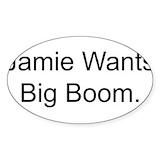 Boom sticker 10 Pack