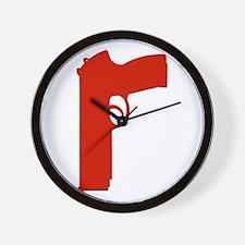 Red Beretta Wall Clock