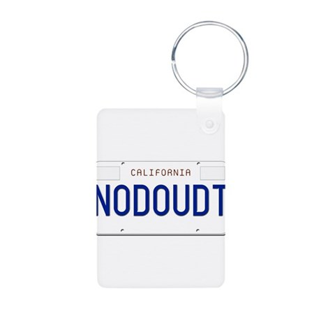 NODOUDT Aluminum Photo Keychain
