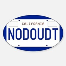 NODOUDT Sticker (Oval)