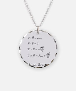 Maxwell's Equations Necklace