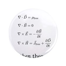 "Maxwell's Equations 3.5"" Button (100 pack)"